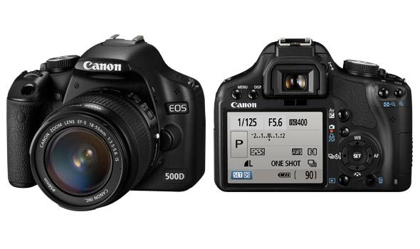 Kamera Canon EOS 500D - kamera dslr murah