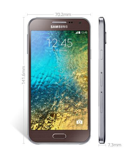 Review, Spesifikasi dan Harga Samsung Galaxy E5