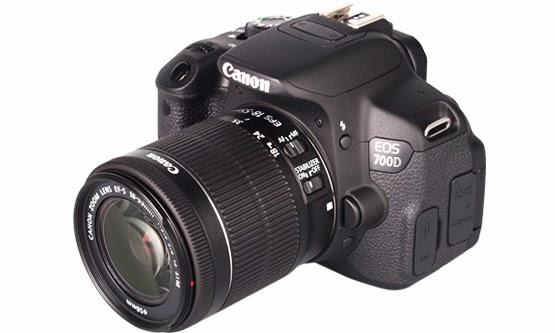 [Review] Spesifikasi dan Harga Canon EOS 700D