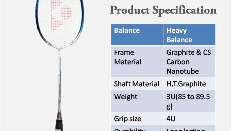 Review dan Daftar Harga Raket badminton 2019  Top 10   097fe953af