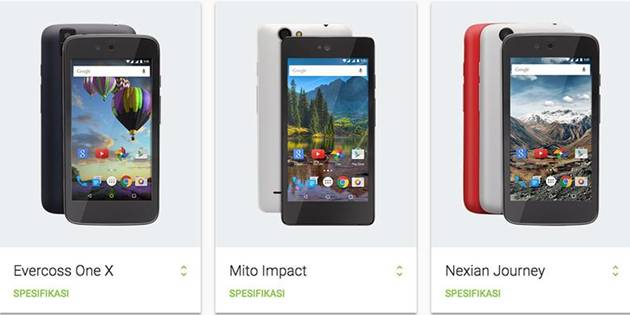 Android-One-Evercoss-One-X-Mito-Impact-dan-Nexian-Journey