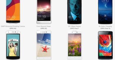 daftar smartphone oppo