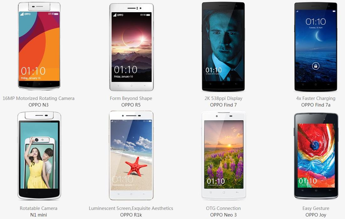 Daftar Harga Hp Oppo Smartphone Terbaru dan Terlengkap