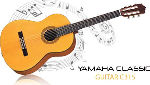 Review, Spesifikasi dan Harga Gitar Yamaha C315 [Lengkap]