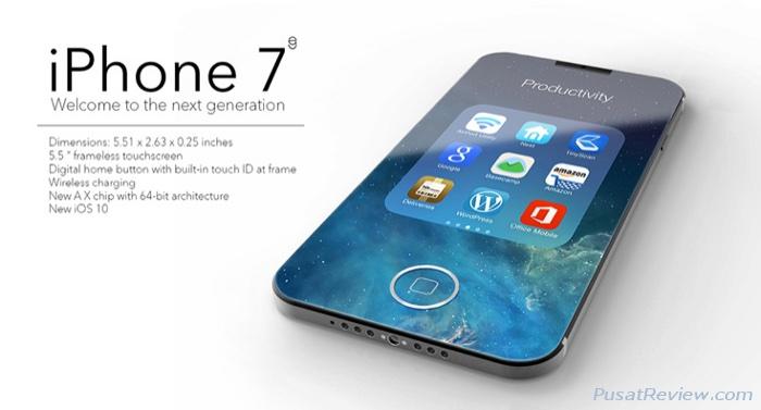 spesifikasi dan harga iphone 7 terbaru
