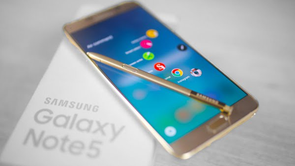 spesifikasi galaxy note 5