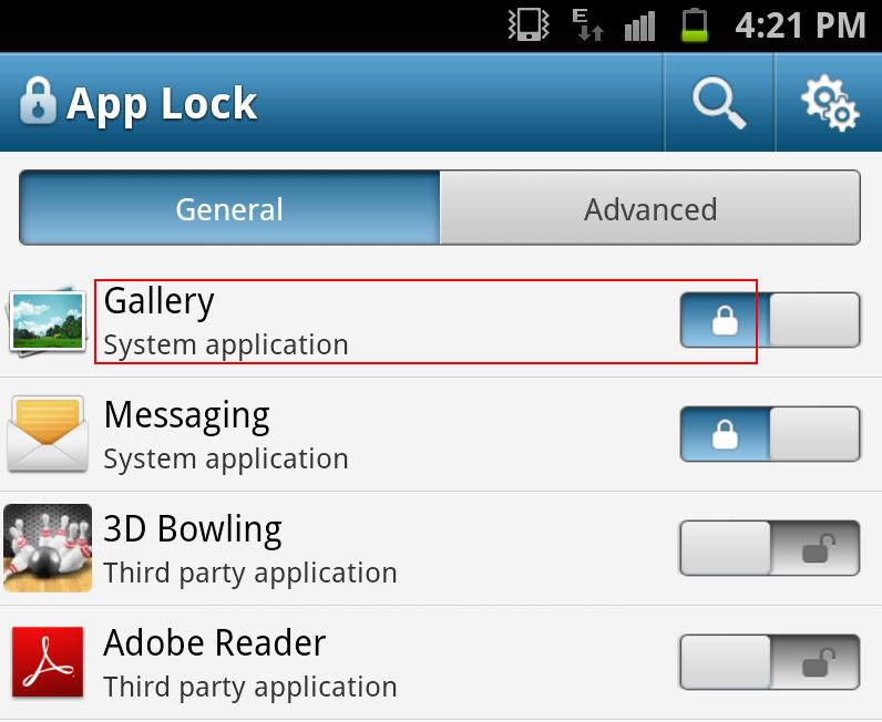 applock cara menyembunyikan file di android