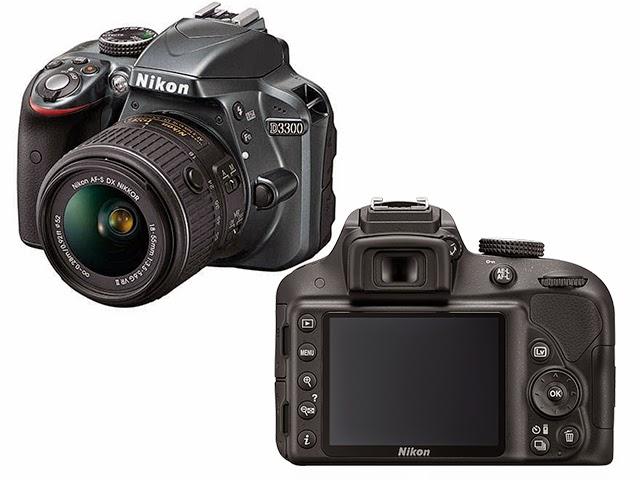 Spesifikasi, Review dan Harga Nikon D3300 Terbaru