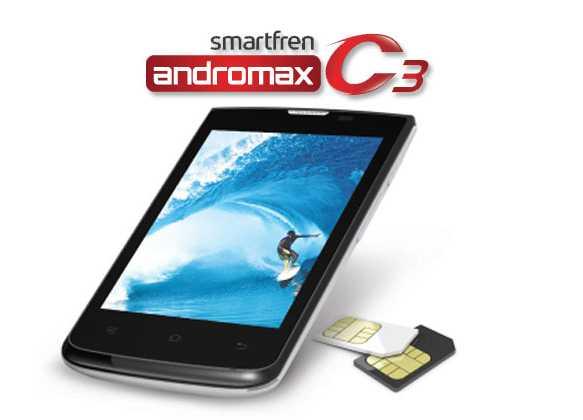 Review, Spesifikasi dan Harga Smartfren Andromax C3